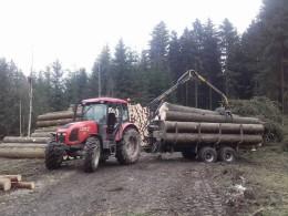 Vyvážecí vozy Farma