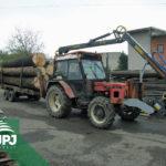 Hydraulická ruka FARMA a traktor Zetor
