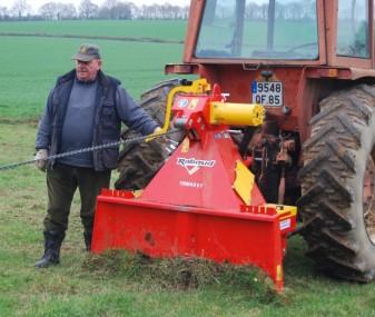 Naviják za traktor Rabaud
