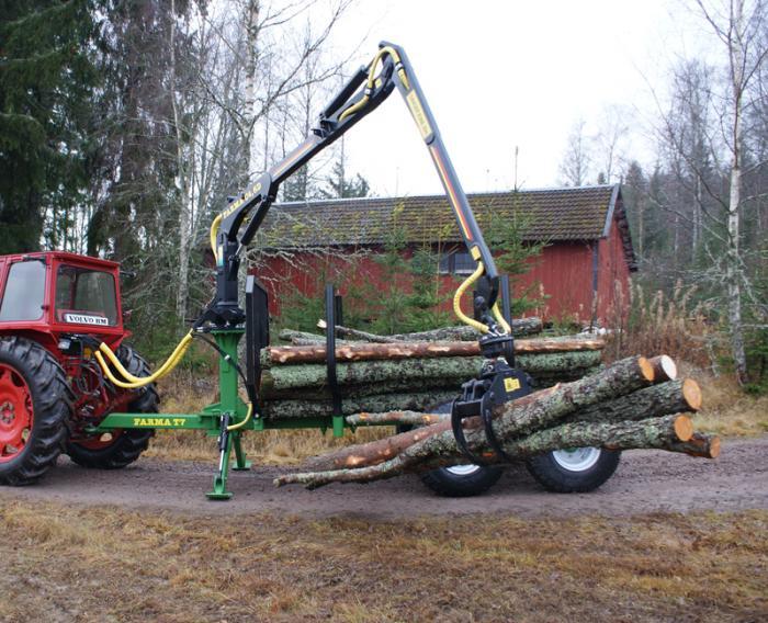 Traktorový vyvážecí vlek