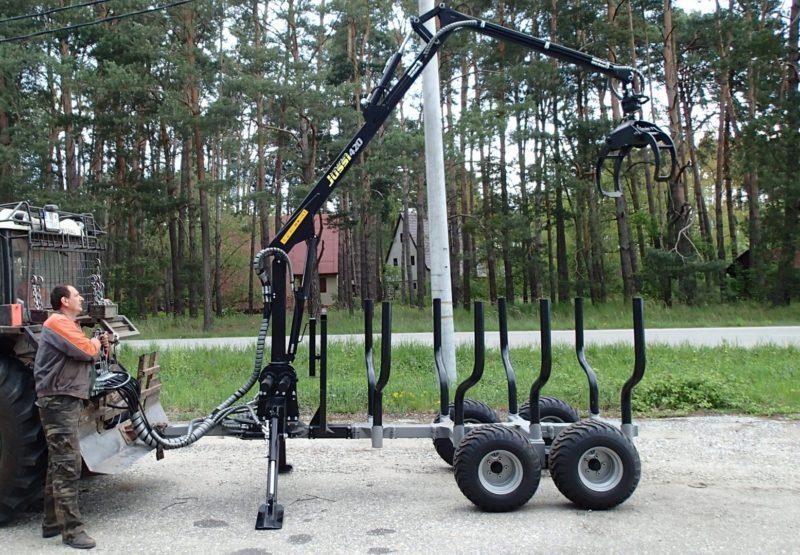 Vyvážecí souprava Vahva Jussi 3000